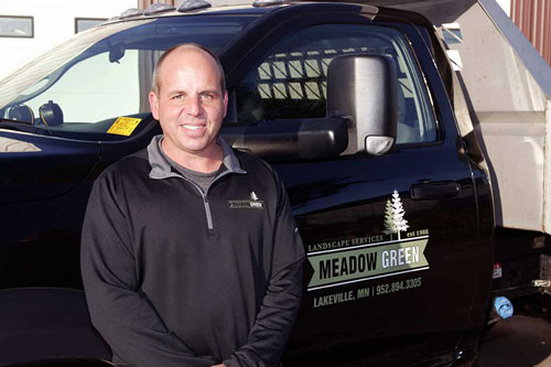 Dave Cripe President of Meadow Green landscaping