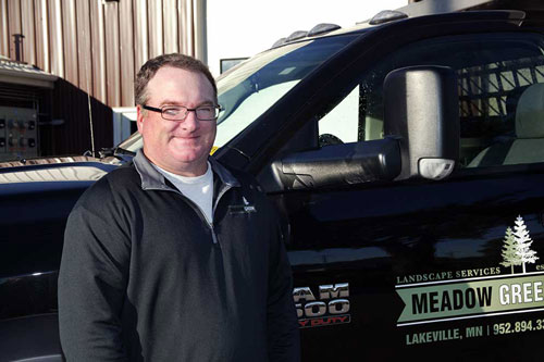 John Ransbottom Operations Manager for Meadow Grean Landscaping
