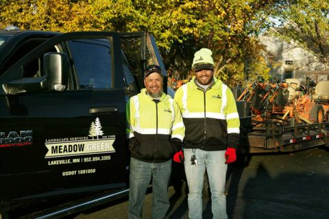 Meadow Green Landscape crew members